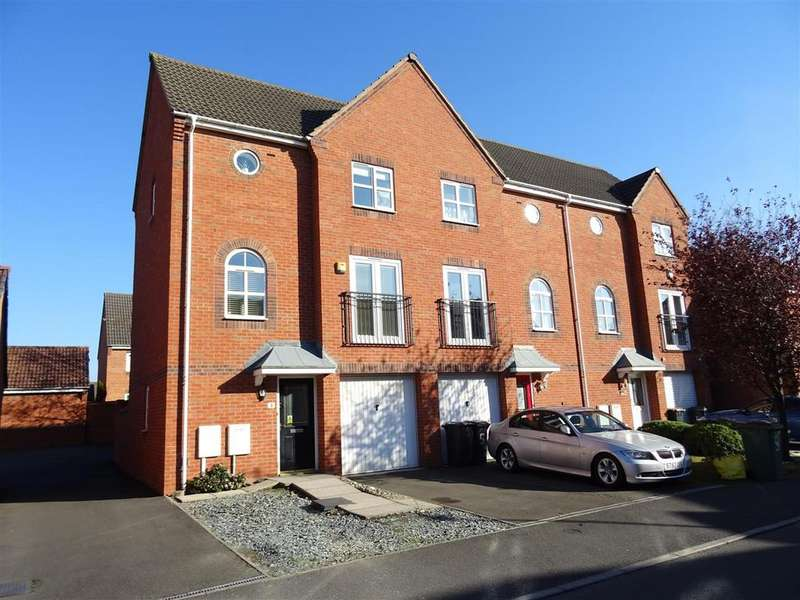 3 Bedrooms Town House for sale in Harker Drive, Coalville, Leicestershire