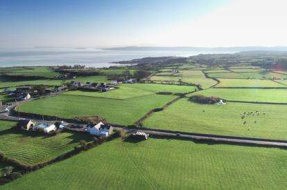 5 Bedrooms Detached House for sale in Llanallgo, Moelfre, Anglesey, North Wales, LL72