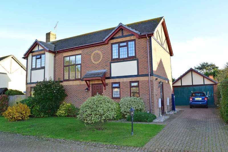4 Bedrooms Detached House for sale in The Brambles, Bembridge, Isle of Wight, PO35 5QH