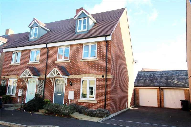 4 Bedrooms Semi Detached House for sale in Hawking Drive, Biggleswade, Beds, SG18