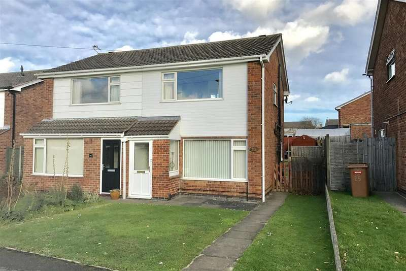3 Bedrooms Semi Detached House for sale in Winster Crescent, Melton Mowbray