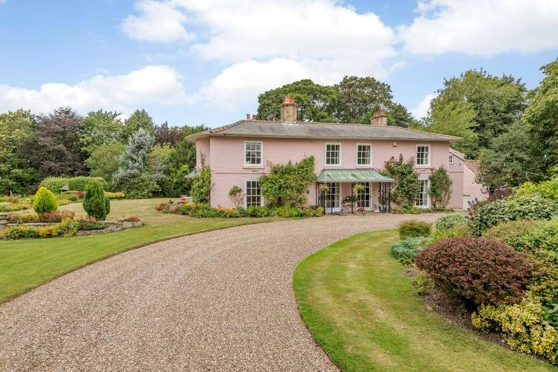5 Bedrooms Detached House for sale in The Old Rectory, Swinhope, Market Rasen, Lincolnshire, LN8