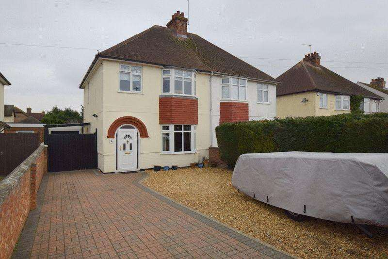 3 Bedrooms Semi Detached House for sale in Ridge Road, Kempston