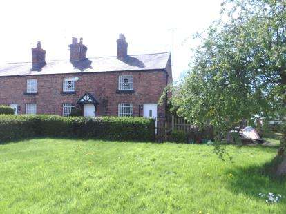 2 Bedrooms End Of Terrace House for sale in Rose Cottages, Church Road, Dodleston, Chester, CH4