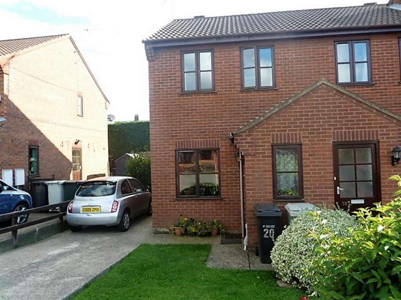 2 Bedrooms End Of Terrace House for sale in Fulmar Drive, Louth