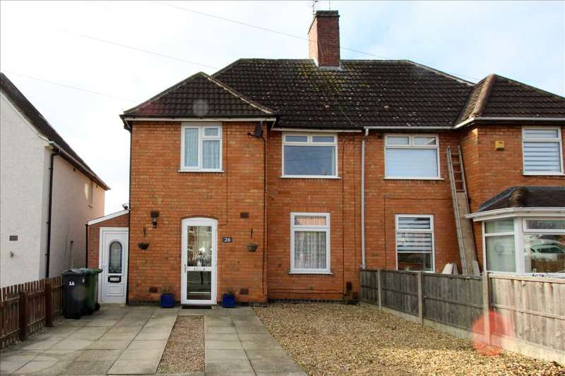 3 Bedrooms Semi Detached House for sale in Valence Road, Leicester