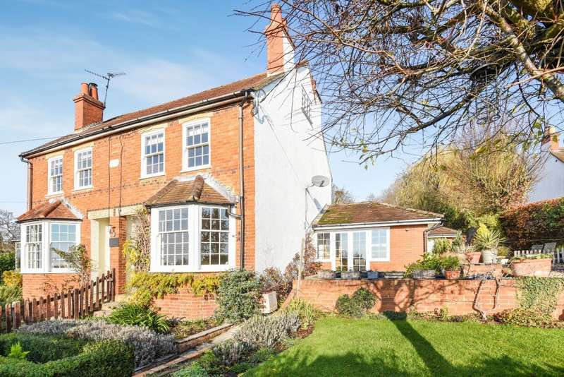 3 Bedrooms Semi Detached House for sale in Spring Cottages, Knowl Hill Common, RG10