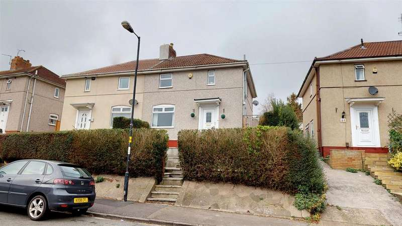 3 Bedrooms Semi Detached House for sale in Ponsford Road, Knowle Park, Bristol