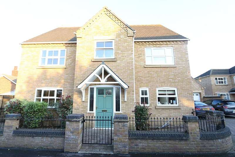 6 Bedrooms Detached House for sale in George Gardens, Whittlesey, Peterborough, Cambridgeshire, PE7 1RQ