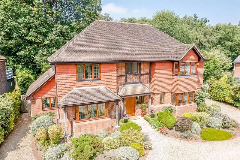 4 Bedrooms Detached House for sale in Hampstead Norreys Road, Hermitage, Berkshire, RG18