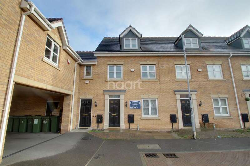 3 Bedrooms Terraced House for sale in Riseholme Close, Leicester