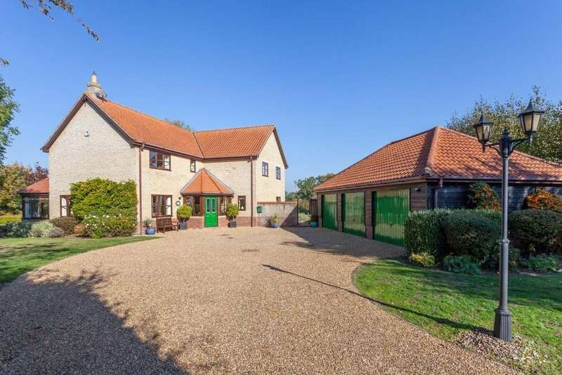 5 Bedrooms Detached House for sale in Mattishall