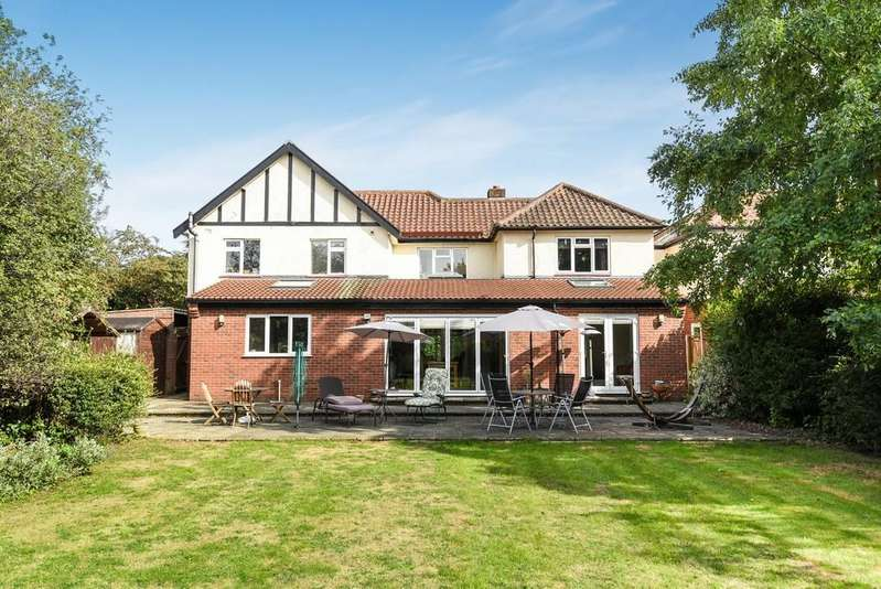 5 Bedrooms Detached House for sale in Constitution Hill, Norwich