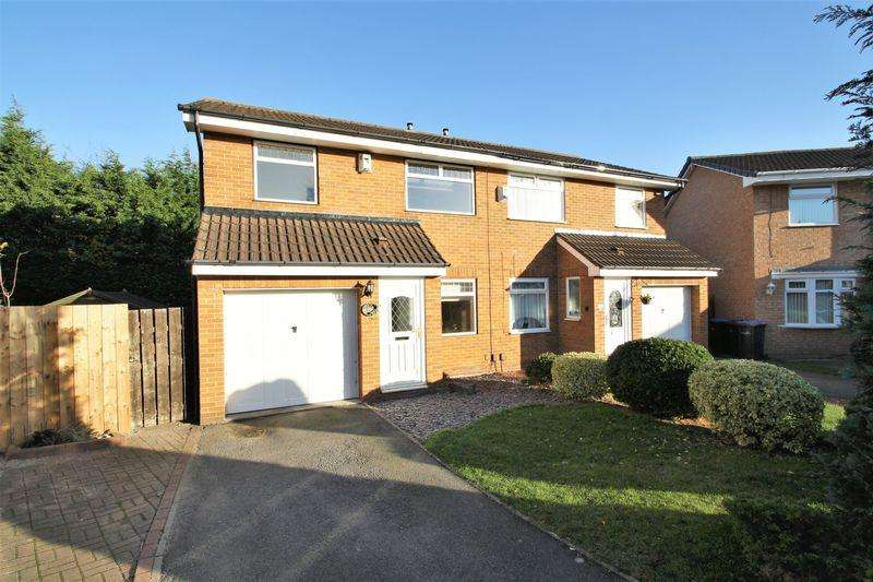 3 Bedrooms Semi Detached House for sale in Coulby Manor Farm, Middlesbrough, TS8 0RY