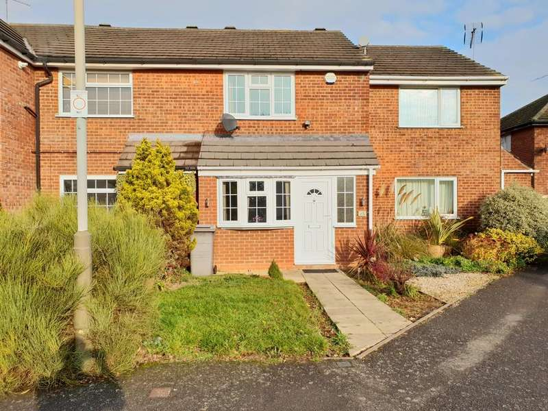2 Bedrooms Terraced House for sale in Lyle Close, Off Trevino Drive, Rushey Mead