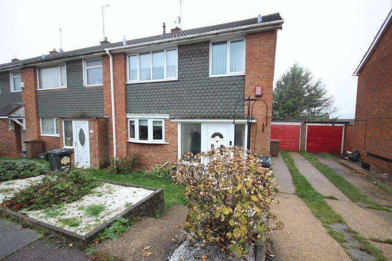 3 Bedrooms End Of Terrace House for sale in Porlock Drive, Luton