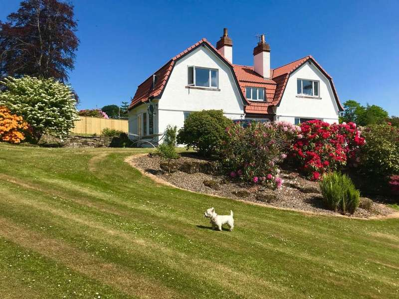 5 Bedrooms Detached House for sale in Kirkton of Mailer Road, Craigend, Perth