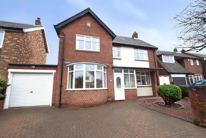 4 Bedrooms Link Detached House for sale in Monkseaton Drive, Whitley Bay