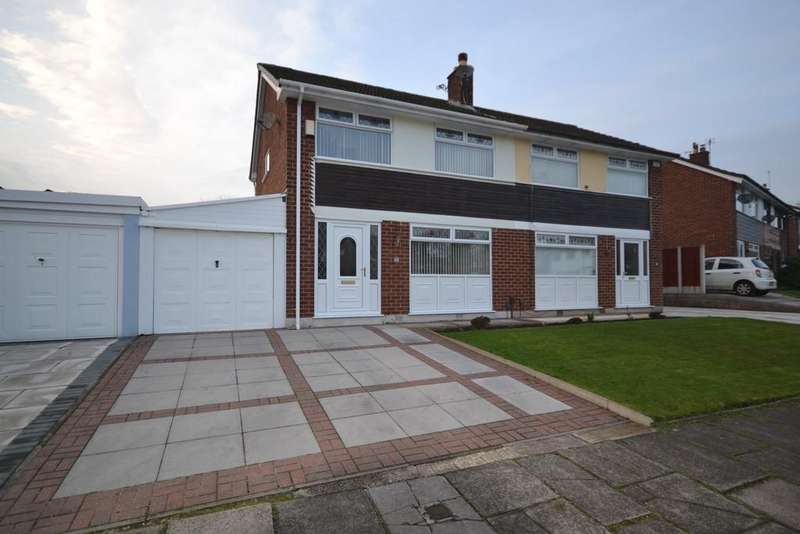 3 Bedrooms Semi Detached House for sale in Avon Road, Astley, Manchester