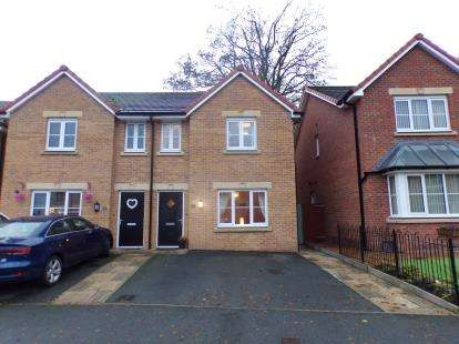 3 Bedrooms Semi Detached House for sale in Llys Ambrose, Mold, Flintshire, CH7