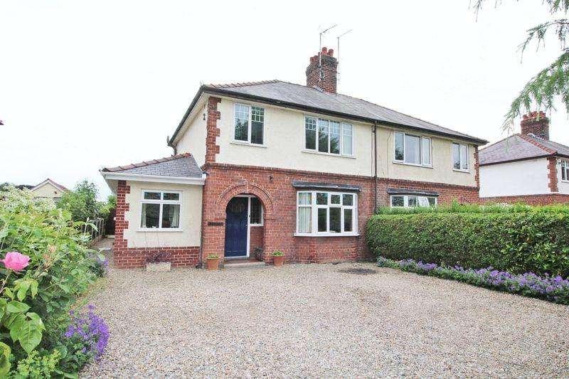 4 Bedrooms Semi Detached House for sale in Burton Road, Rossett, Wrexham