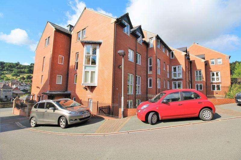 1 Bedroom Apartment Flat for sale in Cwrt Glan Y Gamlas, Abbey Road, Llangollen
