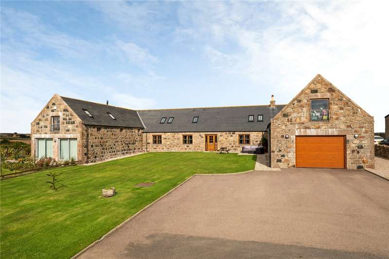 4 Bedrooms Semi Detached House for sale in 1 Aulton of Fochel Steadings, Oldmeldrum, Inverurie, Aberdeenshire, AB51