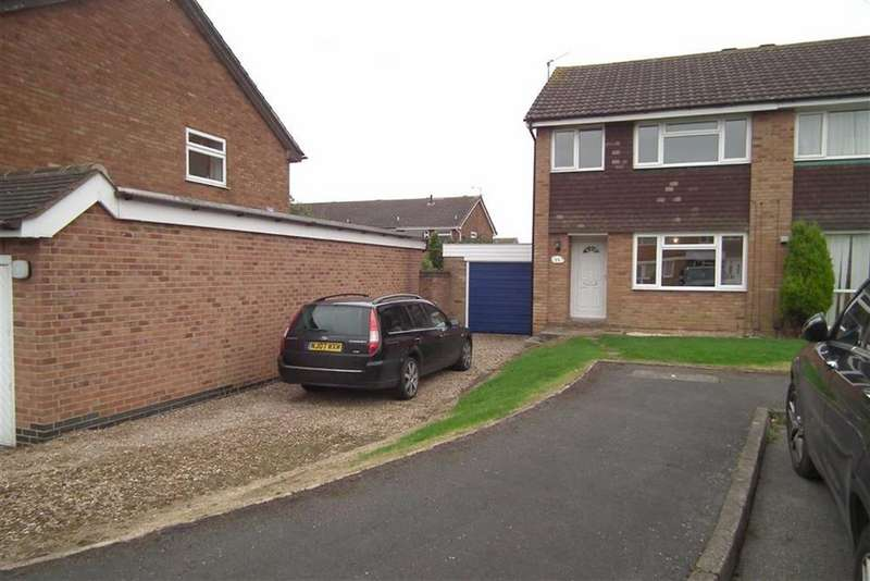 3 Bedrooms Semi Detached House for sale in Field Close, Hinckley, Leicestershire