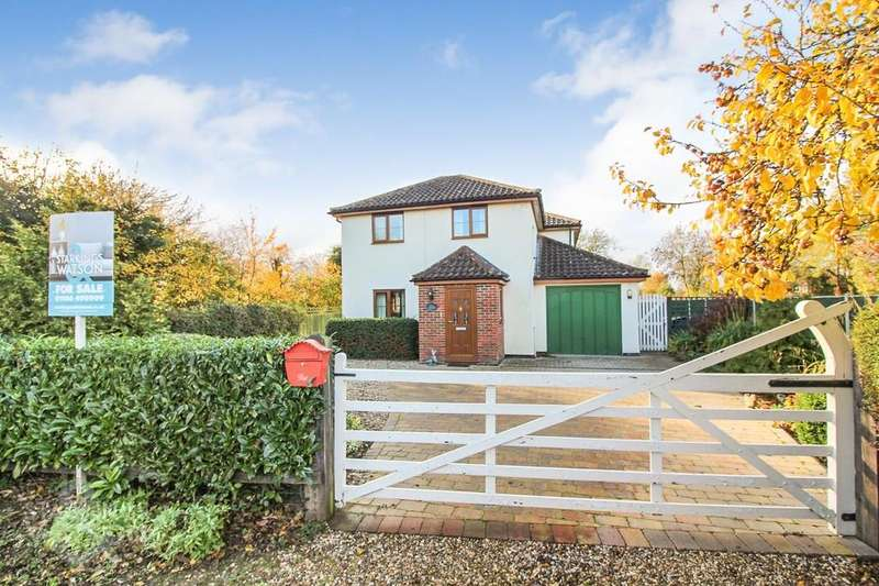 4 Bedrooms Detached House for sale in Church Road, Topcroft, Bungay