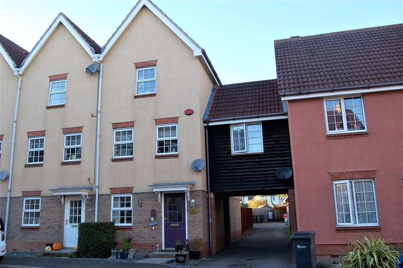 3 Bedrooms Town House for sale in Rustic Close, Great Dunmow CM7