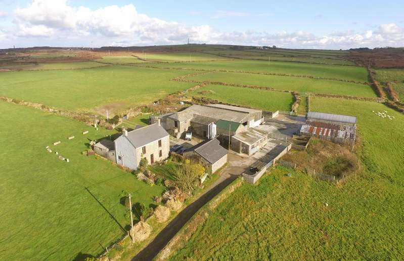 3 Bedrooms Unique Property for sale in 46 acre Farm at Dowran, St. Just, Penzance TR19