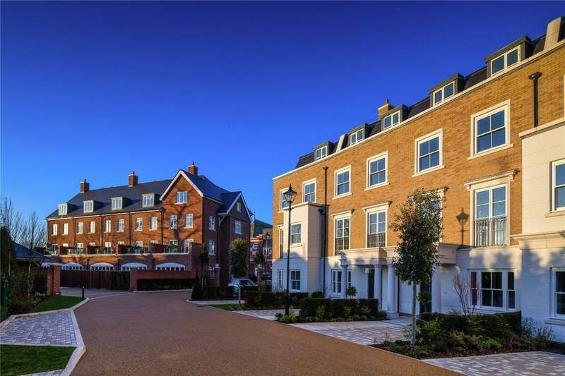 5 Bedrooms End Of Terrace House for sale in Fitzroy Gate, Richmond Road, Old Isleworth, Middlesex, TW7