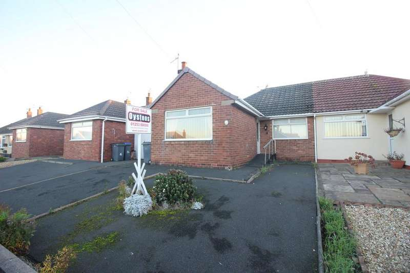 2 Bedrooms Semi Detached Bungalow for sale in Greenfield Road, Thornton-Cleveleys