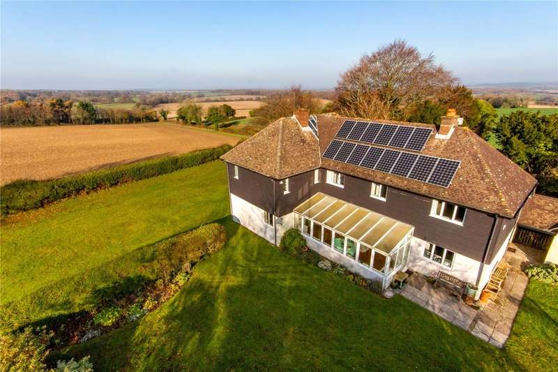 5 Bedrooms Detached House for sale in Beauworth, Alresford, Hampshire, SO24