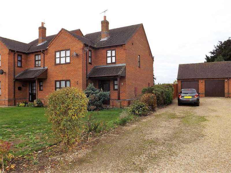 3 Bedrooms Semi Detached House for sale in Needham Drive, Sutton St James, Spalding