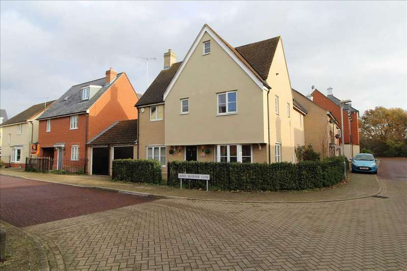 4 Bedrooms Detached House for sale in Agnes Silverside Close, Colchester, Colchester
