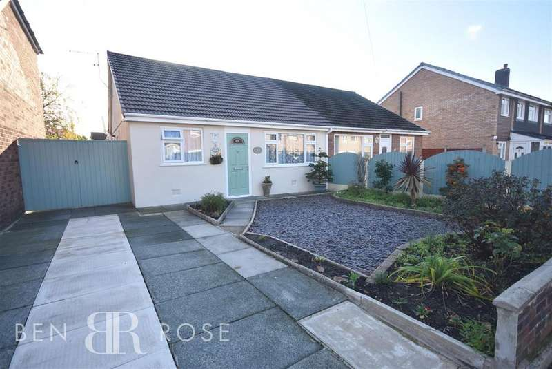 2 Bedrooms Semi Detached Bungalow for sale in Princess Way, Euxton, Chorley