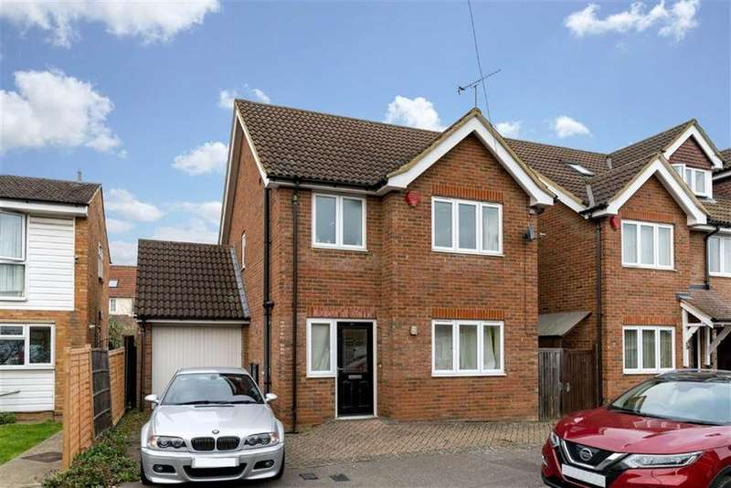 3 Bedrooms Detached House for sale in Cedarwood Drive, St Albans, Hertfordshire