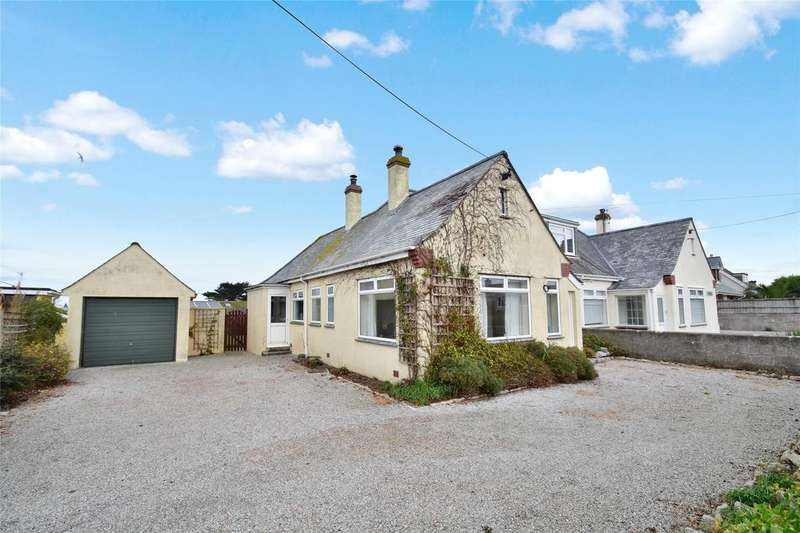 3 Bedrooms Semi Detached Bungalow for sale in West Pentire Road, Crantock
