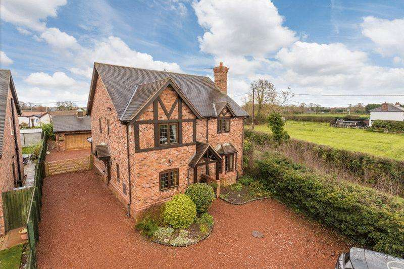 4 Bedrooms Detached House for sale in Brambles, Over Road, Church Minshull, Near Nantwich