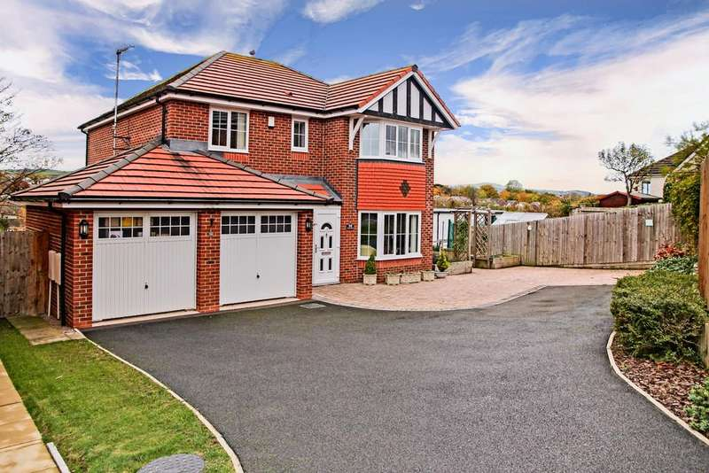 4 Bedrooms Detached House for sale in Clos Belyn, Llandudno Junction, North Wales