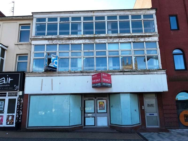 Commercial Property for sale in 3-5 Clifton Street, Blackpool, Lancashire