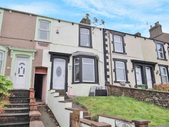 2 Bedrooms Terraced House for sale in Robinsons Terrace, Maryport, Cumbria, CA15 7BS