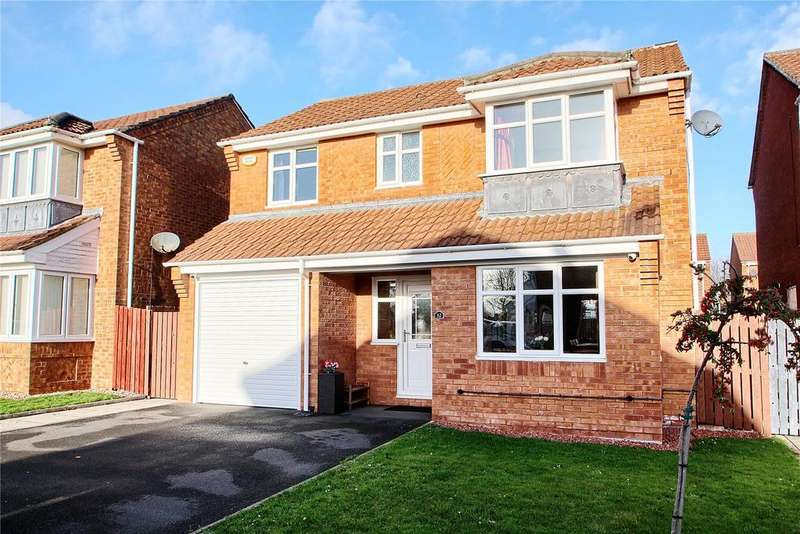 4 Bedrooms Detached House for sale in Celandine Way, Beckindale Park