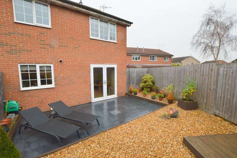 1 Bedroom Cluster House for sale in Rochford Drive, Wigmore, Luton, LU2 8SU