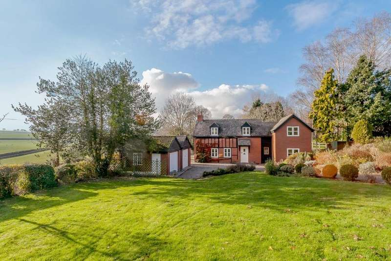 4 Bedrooms Detached House for sale in Eaton Bishop, Herefordshire