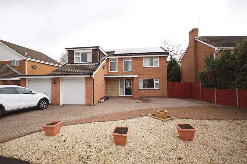 4 Bedrooms Detached House for sale in Holme Drive, Sudbrooke, Lincoln