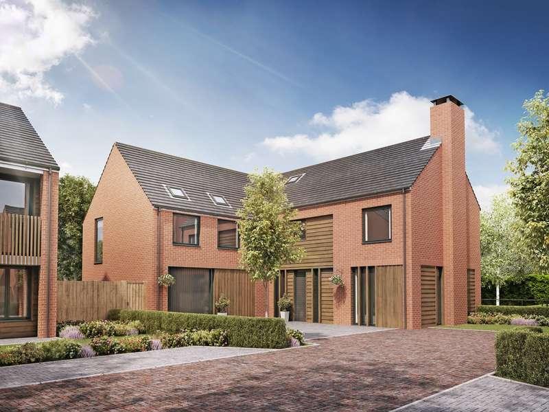 5 Bedrooms Detached House for sale in Culcheth Hall Drive, Culcheth, Warrington, WA3