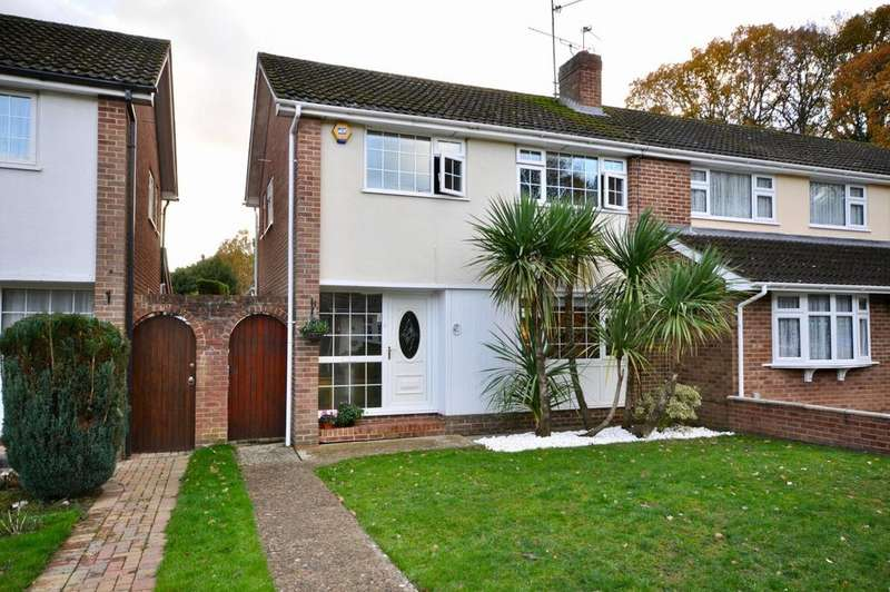 3 Bedrooms Semi Detached House for sale in Kingfisher Drive, Woodley, Reading, RG5 3LQ