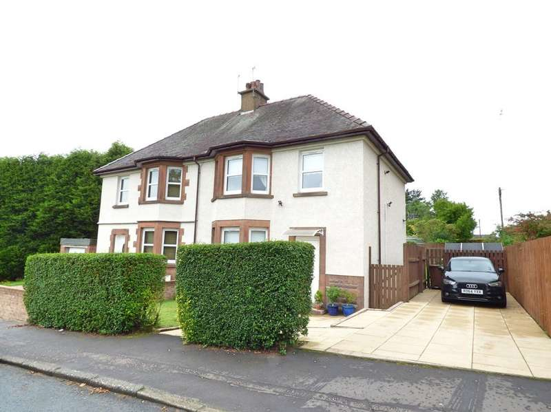 3 Bedrooms Semi Detached House for sale in KINGSWAY, GOUROCK PA19